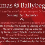 Join us for our Christmas @ Ballybeg Farm event